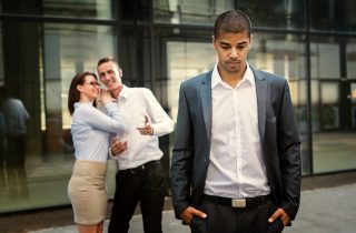 Coworkers talk about coworker behind his back